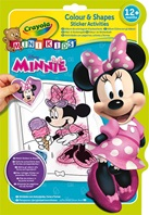 Album coloriage et autocollants Minnie
