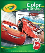 Album coloriage & autocollants Cars 3