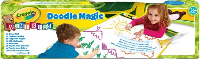 Doodle magic tapis de dessins - Tapis coloriage ...